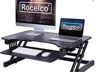 adjustable table top desk