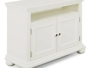 Homestyles Entertainment stand white