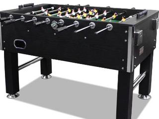 T R Sports 60  Soccer Foosball Table    Black     not Inspected
