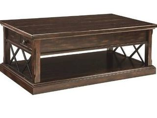 Signature Design by Ashley T701 9 Roddinton Coffee Table with lift Top Dark Brown