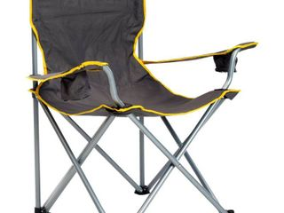 Quik Shade Heavy Duty Folding Chair   Grey