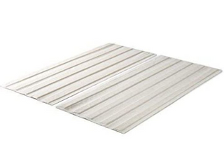 Zinus Solid Wood Bed Support Slats   Fabric covered   Bunkie Board  Queen