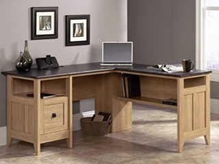 Sauder l Shaped Desk   not Inspected
