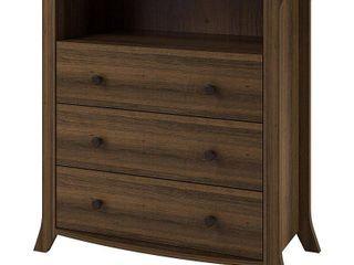 Oakridge 3 Drawer Media Dresser by Altra  Homestead Oak