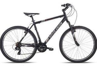 27 5  Royce Union RMT Mens 21 Speed All Terrain Mountain Bike  22  Aluminum Frame  Twist Shift  Matte Black