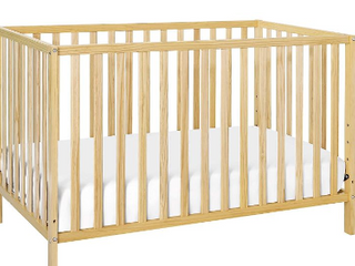 Union 2 in 1 Convertible Crib In Natural  Greenguard Gold Certified