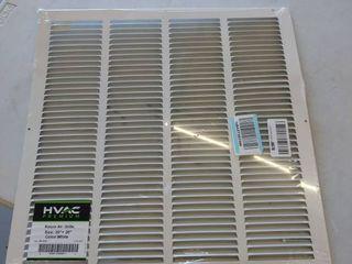 Return air grille 20 x20