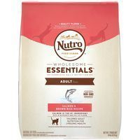 The Nutro Company Wholesome Essentials Adult Cat Food with Salmon and Whole Brown Rice Formula  14 Pound