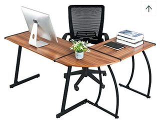 Green Forest l Shaped Corner Desk
