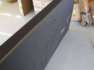 63  upholstered headboard and bed