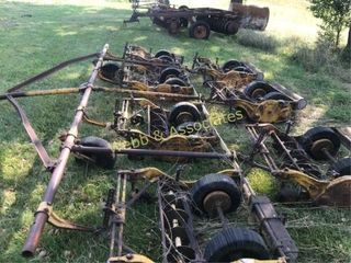 Reel mower  older pull type unit  located Barry
