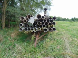 6  irrigation pipe and trailer  35  joints