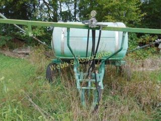 200 gallon sprayer  pull type  PTO  located Barry