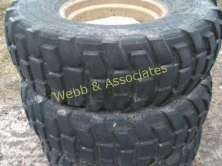 14   Irrigation pivot tires  14 5R20  located in