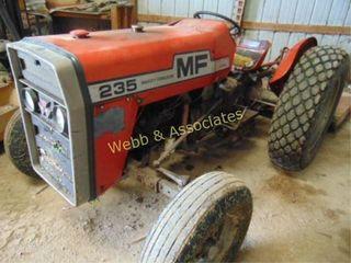 Massey Ferguson 235  Diesel tractor  3pt  PTO