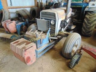Massey Ferguson 240  Diesel tractor with Brouwer