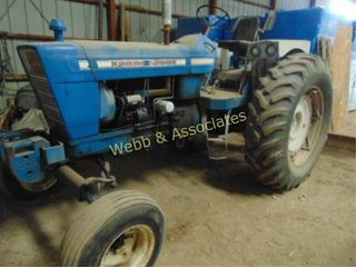 Ford 5000 Tractor  Diesel  3 pt  PTO  good rubber