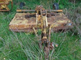 Woods mower  older unit  located Barry Road  KC
