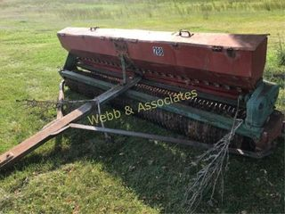 Brillion seeder  pull type  located Barry Road  KC