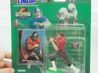 Mike Alstott   Extended Series   1998 NFl   Starting lineup with Card