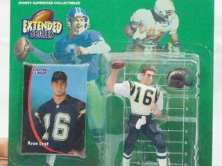 Ryan leaf   Extended Series   1998 NFl   Starting lineup with Card