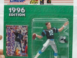 Kerry Collins   Young Sensations   1996 NFl   Starting lineup with Card