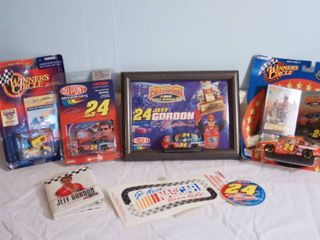 NASCAR Jeff Gordon Collection  1 64th scale Includes his 1985 Pro Debut Sprint Car Three  24 cars mini book