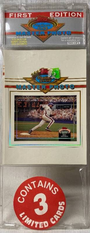 Topps Stadium Club Master Photo   Baseball   First Edition