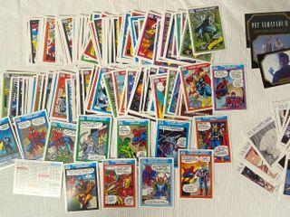 Set of Misc Cards   Marvel Comics   U S  Olympicards   Pet Sematary II