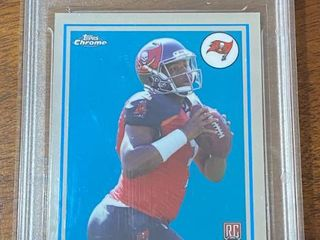 2015 Topps Chrome   Tampa Bay Buccaneers Jameis Winston ROOKIE  T60RC JW   DCS Graded in Hard Case