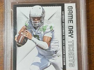 2015 Contenders Draft   Game Day Tickets Marcus Mariota  31   DCS Graded in Hard Case