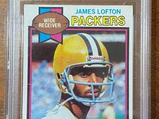 1979 Topps   Packers James lofton ROOKIE  310   DCS Graded in Hard Case