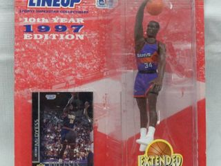 Antonio McDyess 1997 Starting lineup Extended Series w  Card