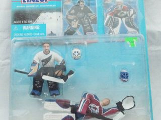 All Star Goalies NHl Starting lineup Action Figure