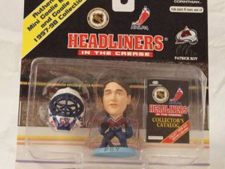 NHl Headliners Patrick Roy Hockey   In The Crease