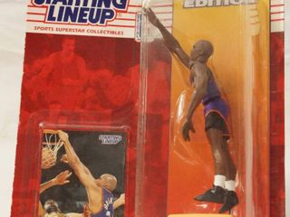 Starting lineup Sports Superstar Collectibles Charles Barkley 1994 w  Card