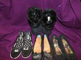 Women s Shoes  4 pair  Sz 7 5 lot 6