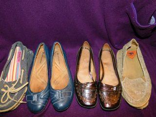 Women s Shoes  3 pair  Sz 7 5 lot 7