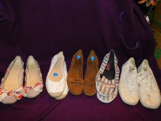 Women s Shoes  5 pair  Sz 7 5 lot 8