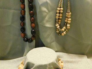 Beaded Necklaces  3 ea