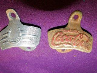 Vintage Bottle Openers  2 ea