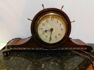 Vintage Nautical Seth Thomas Mantel Clock
