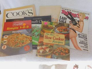 6 Books   Magazines Including Rolling Stones