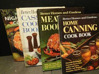 Cookbooks  4 ea