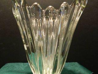 Heavy Glass Vase