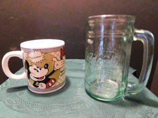 Mickey Mouse   Coca Cola Mugs