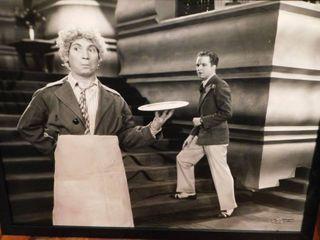 Harpo Marx Vintage Framed Photo