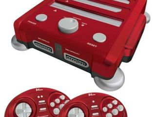 Hyperkin RetroN 3 Gaming Console 2 4 GHz Edition for Super NES  Genesis  NES  laser Red
