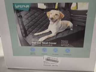 lIFEFAIR Back Seat Covers for Dogs  100  Waterproof
