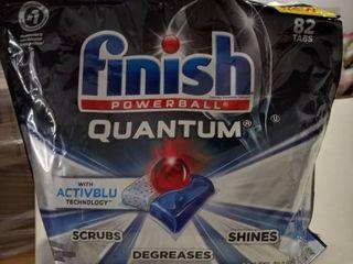 Finish   Quantum   82ct   Dishwasher Detergent   Powerball